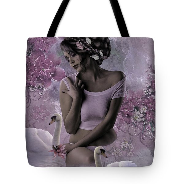 In The Mist Of The Morning Tote Bag