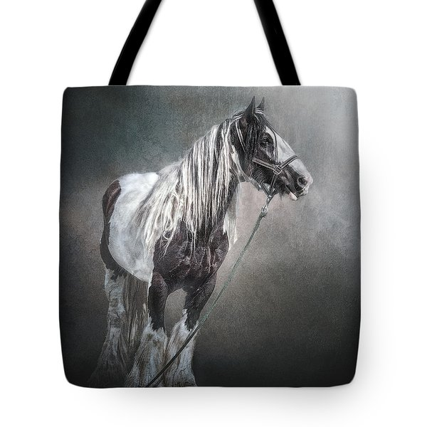 Tote Bag featuring the photograph In The Misty Moonlight by Brian Tarr