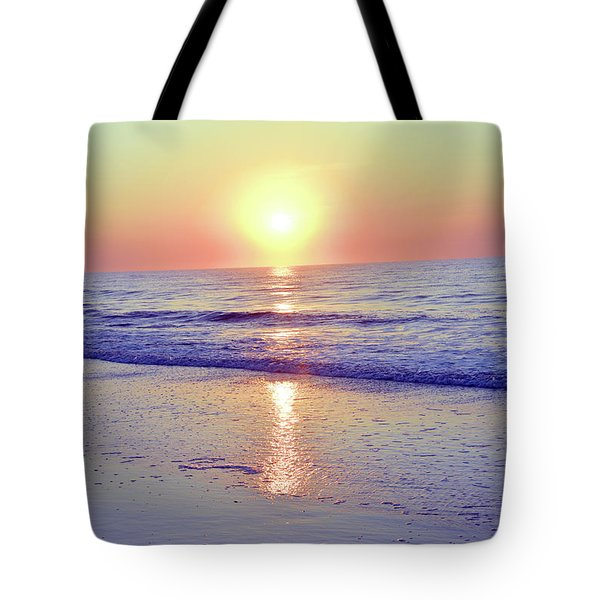 In The Morning Light Everything Is Alright Tote Bag