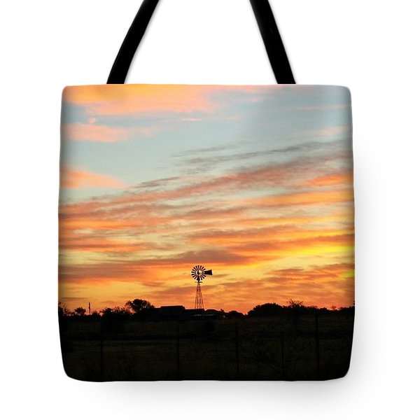 In The Morning Still Tote Bag