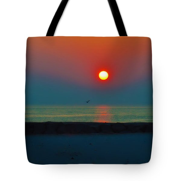 In The Morning Sun Tote Bag by Bill Cannon