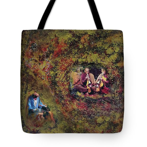 In The Name Of Music Tote Bag
