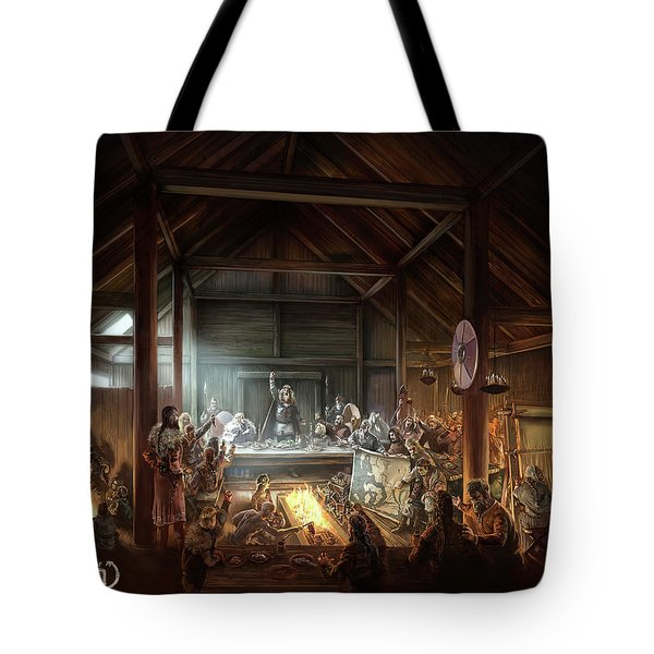 In The Name Of Odin Cover Art Tote Bag