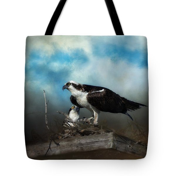 In The Nest Tote Bag