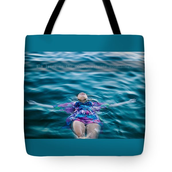 In The Ocean Tote Bag