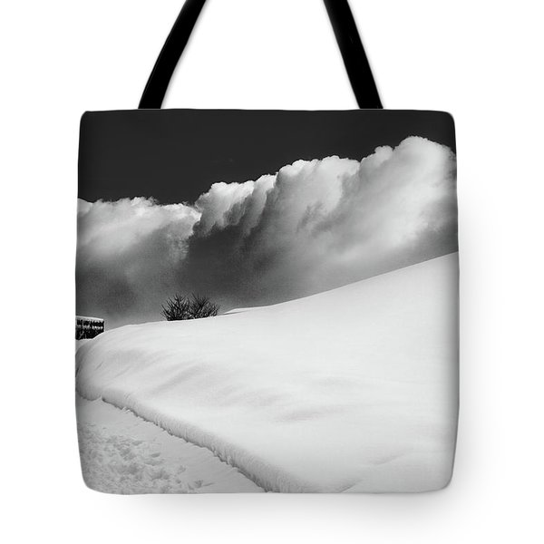 in the Ore Mountains Tote Bag by Dorit Fuhg