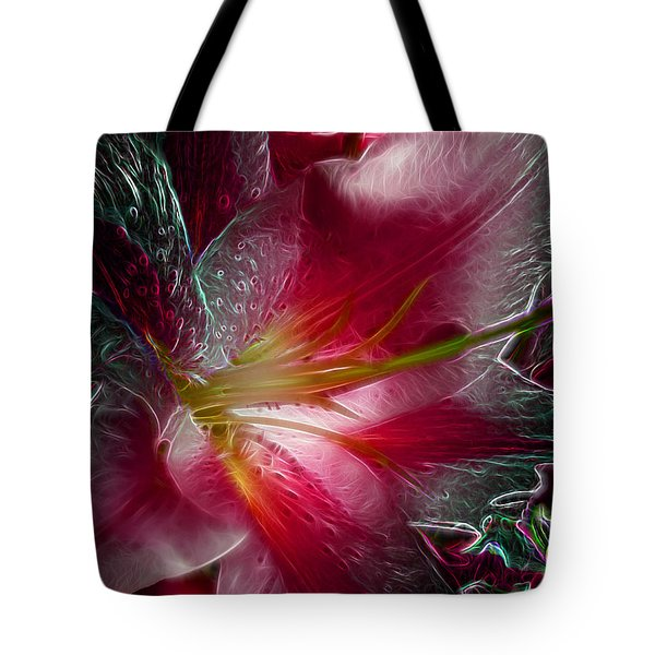 In The Pink Tote Bag by Stuart Turnbull