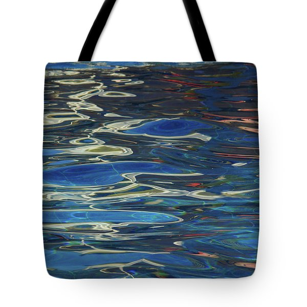 In The Pool Tote Bag by Evelyn Tambour