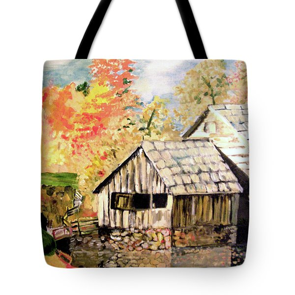In The Quiet Moments Tote Bag