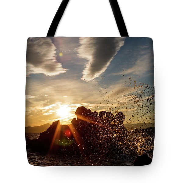 In The Right Spot Tote Bag