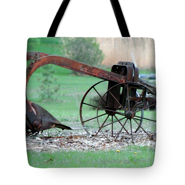 In The Rust Home Tote Bag