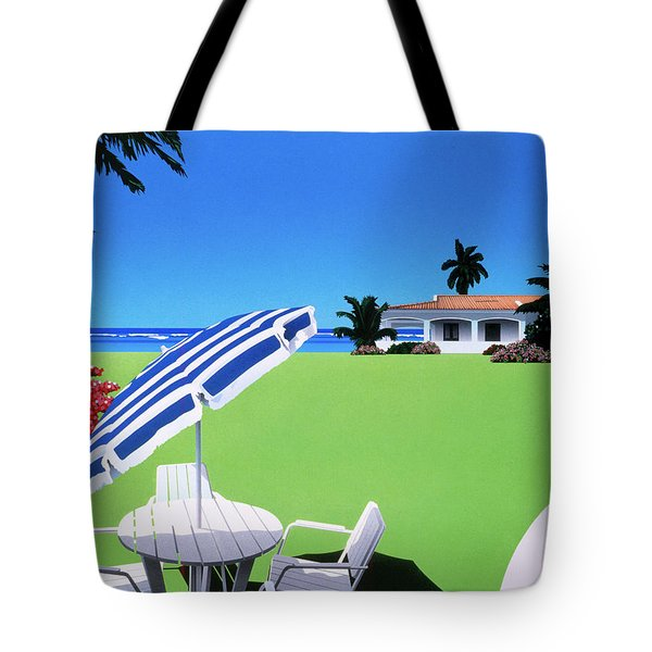 In The Shade Tote Bag by David Holmes