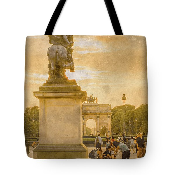 Paris, France - In The Shadow Of Glory Tote Bag