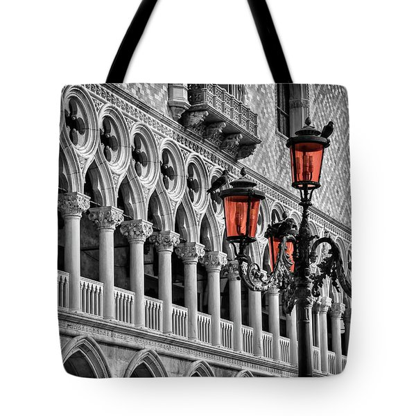 In The Shadow Of The Doges Palace Venice Tote Bag
