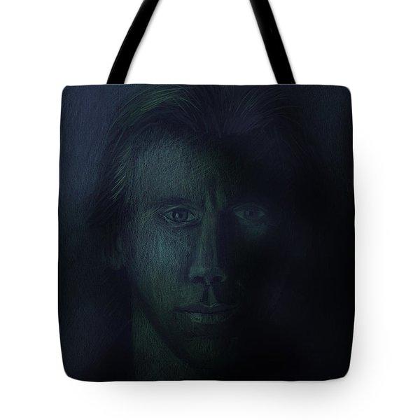In The Shadows Of Despair Tote Bag by Arline Wagner