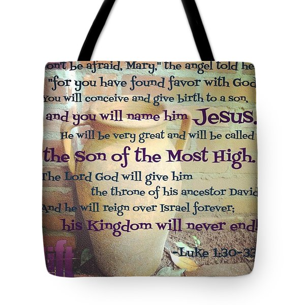 In The Sixth Month Of Elizabeth's Tote Bag
