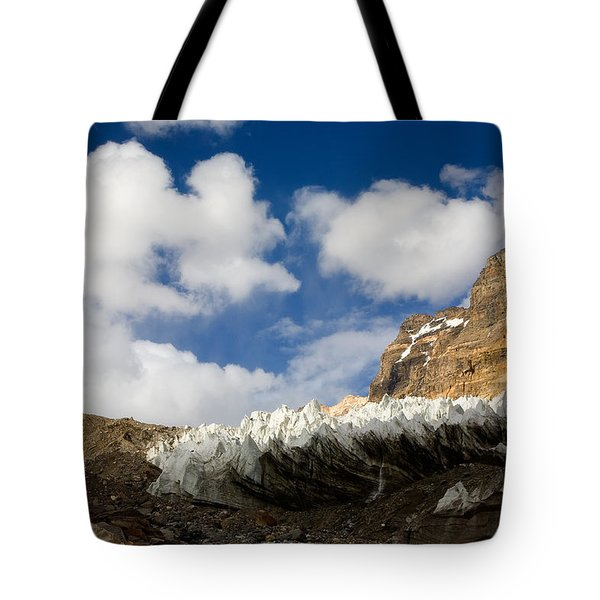 In The Sky And On The Earth Tote Bag by Konstantin Dikovsky