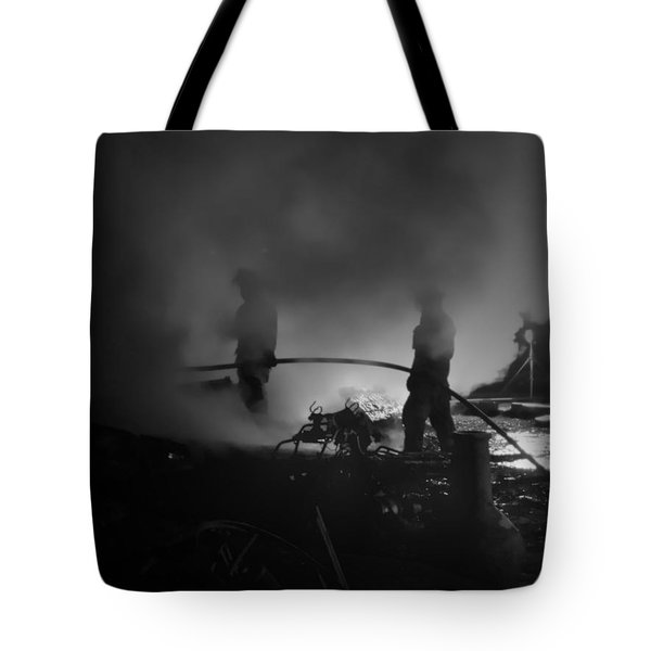 In The Smoke Tote Bag