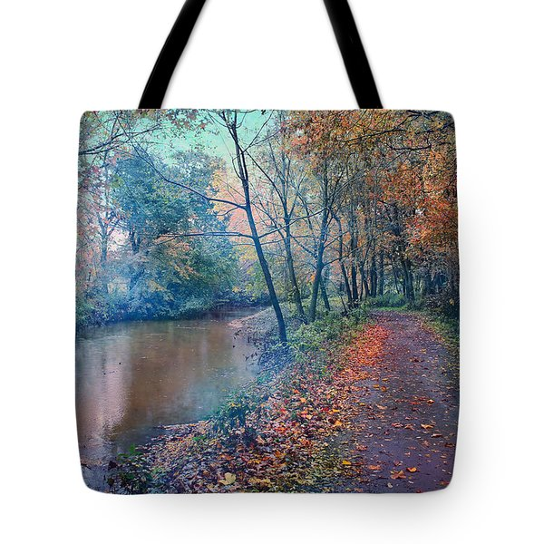 In The Stillness Of The Morning Tote Bag