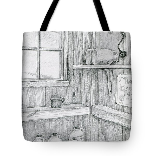 In The Sugar House Tote Bag