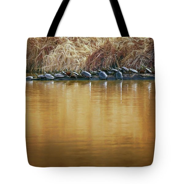 In The Sun - Turtles Tote Bag