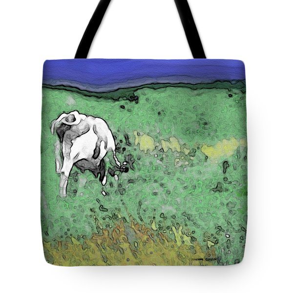 In The Sweet Fields Tote Bag