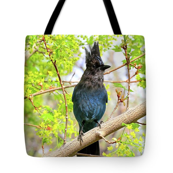 Tote Bag featuring the photograph In The Swing Of Spring by Donna Kennedy