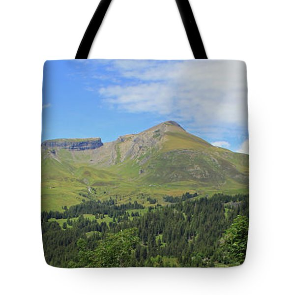 In The Swiss Alps Jungfrau Region Tote Bag