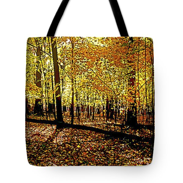 In The The Woods, Fall  Tote Bag