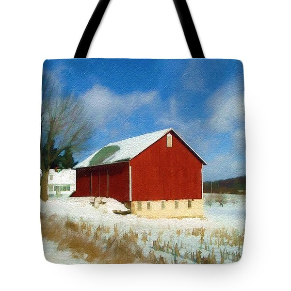 In The Throes Of Winter Tote Bag