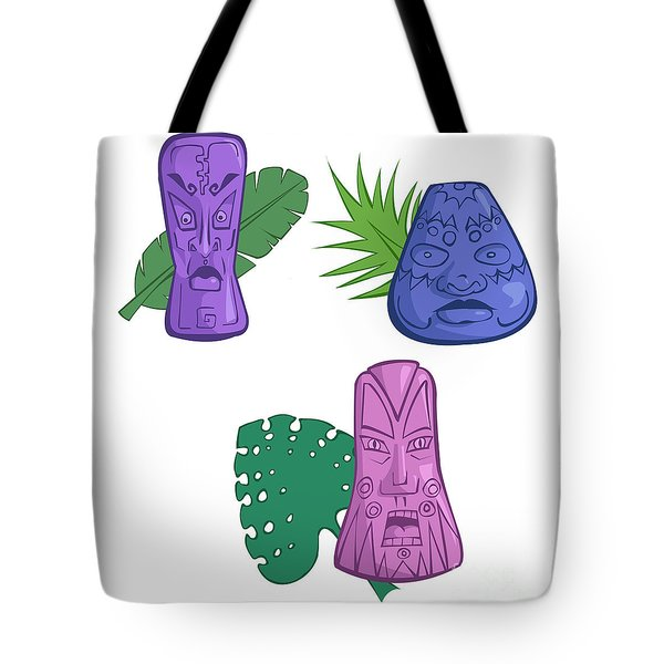 In The Tiki Room Tote Bag