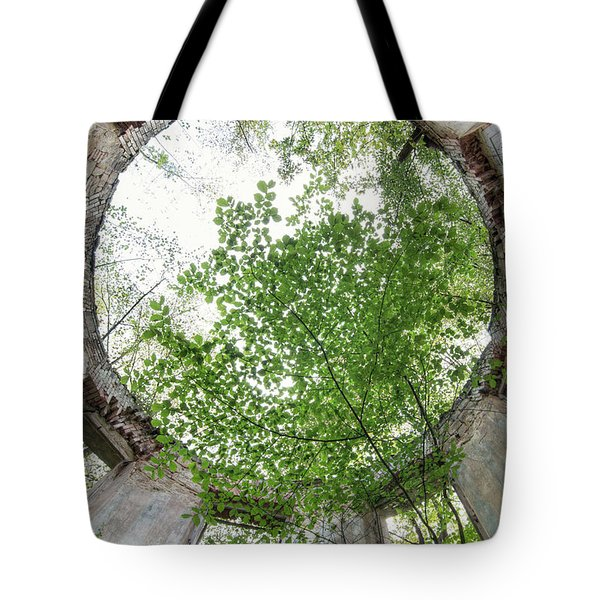In The Tower Tote Bag by Michal Boubin