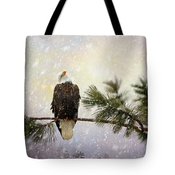 In The Twilight Glow Tote Bag