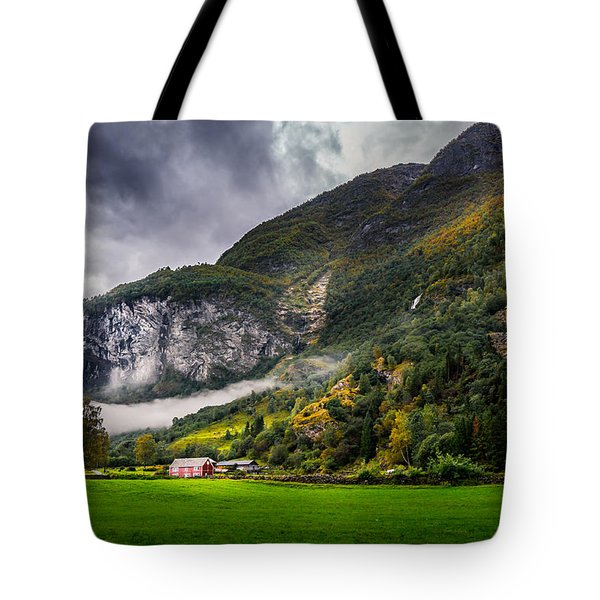 In The Valley Tote Bag by Dmytro Korol