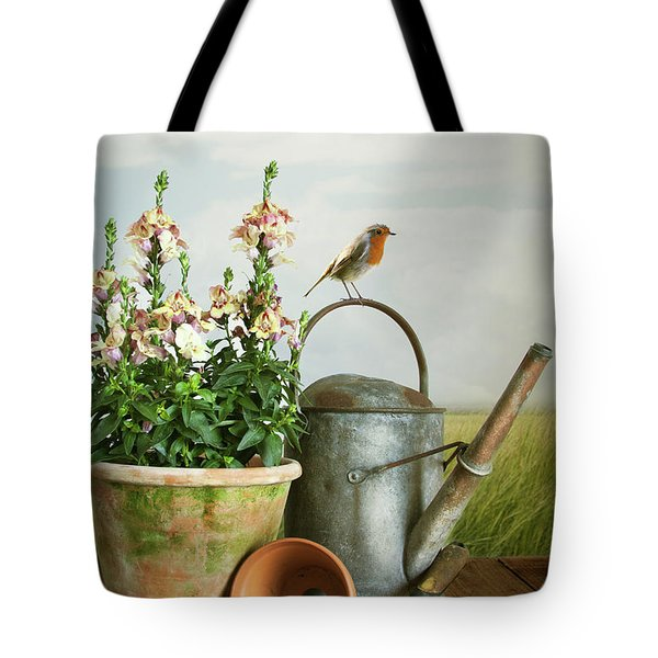 In The Vintage Garden Tote Bag