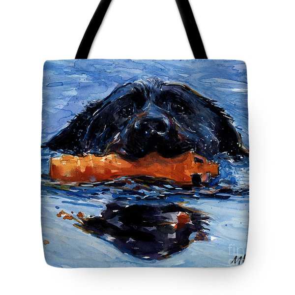 In The Wake Tote Bag by Molly Poole