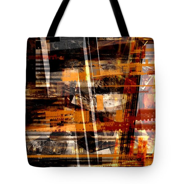 Tote Bag featuring the digital art In The Wind by Art Di