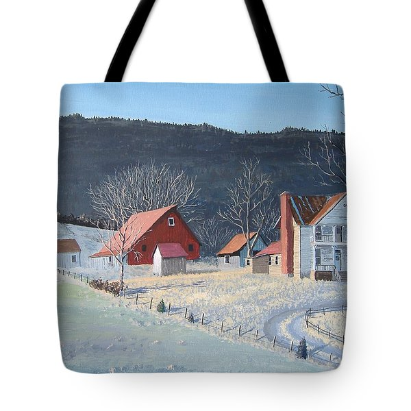In The Winter Of My Life Tote Bag by Norm Starks