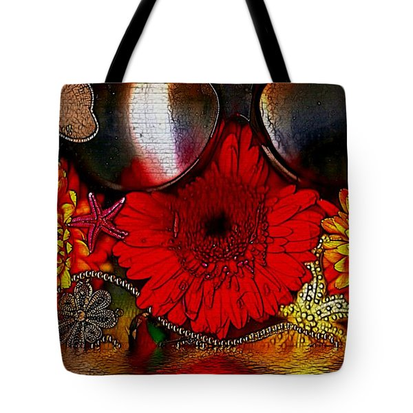In The Wood Of Fantasy By The Water Tote Bag by Pepita Selles