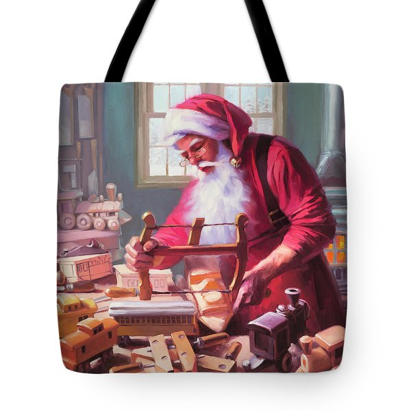 In The Workshop Tote Bag