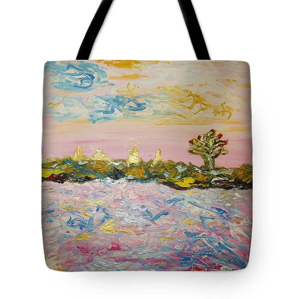 In The World Of Illusions Tote Bag