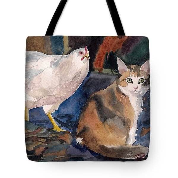 In The Yard Tote Bag