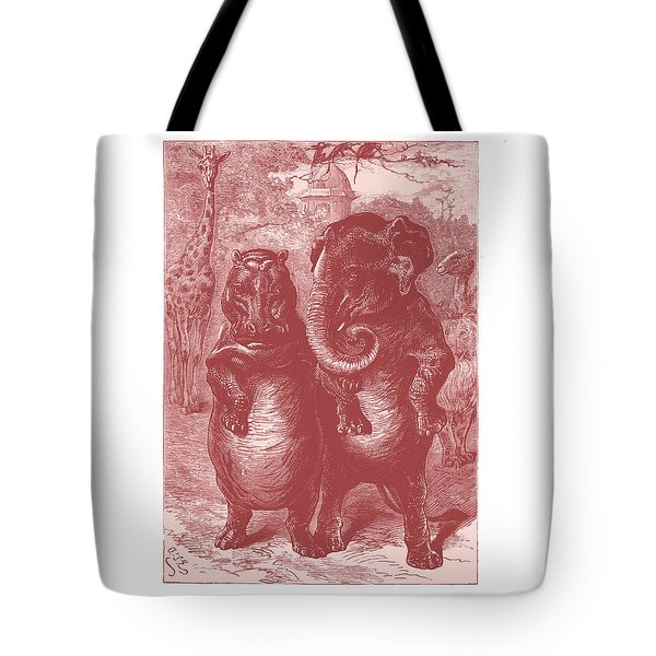 In The Zoo Tote Bag