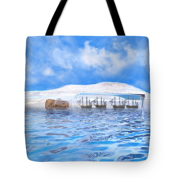 In Their Own Minds--serenity Point Tote Bag