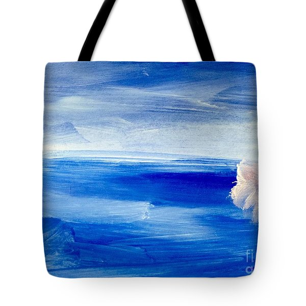 Tote Bag featuring the painting In This Sea Of Life by Trilby Cole