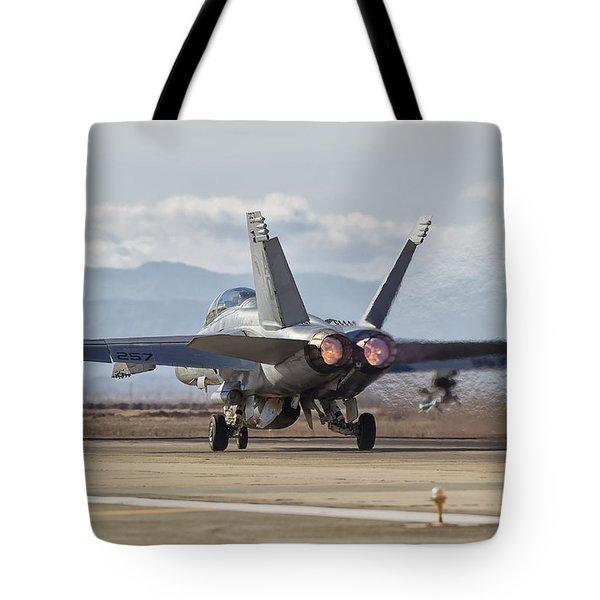 In Thrust We Trust Tote Bag