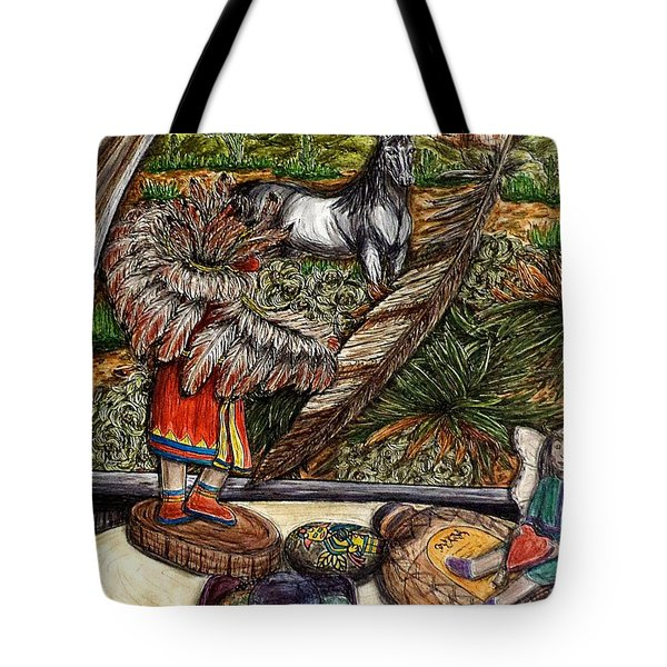 In Times Of Need Tote Bag