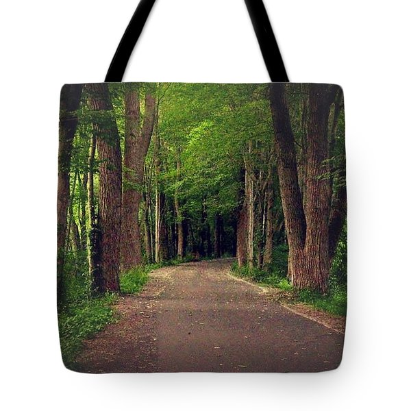 In To The   Deep Dark Woods  Tote Bag