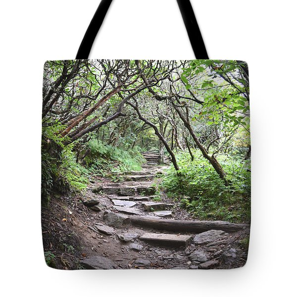 The Enchanted Forest Path Tote Bag by Gary Smith