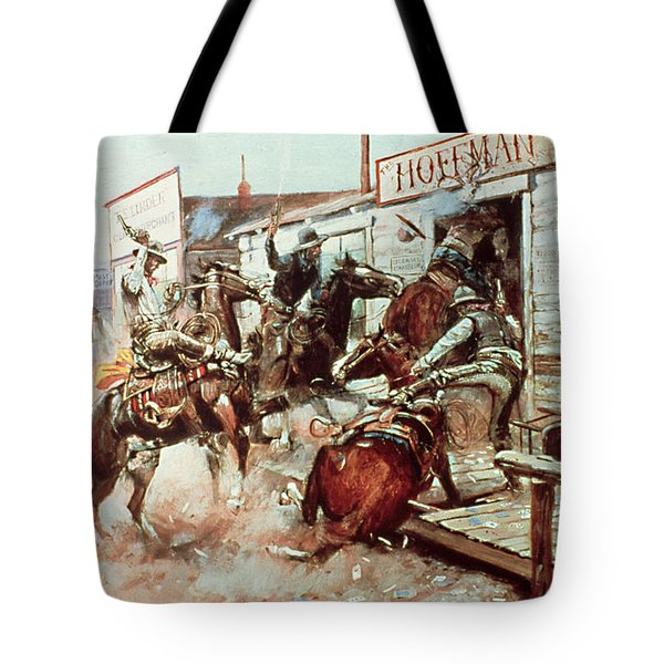 In Without Knocking Tote Bag